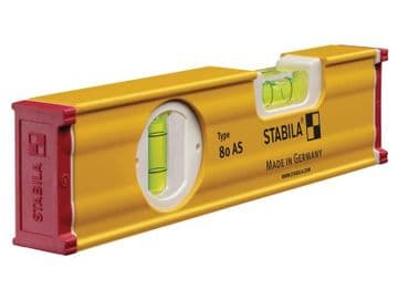 80 AS Spirit Level 2 Vial 19565 20cm